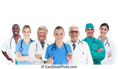 微笑, チーム, 医学
