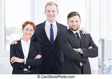 微笑, ビジネス 人々