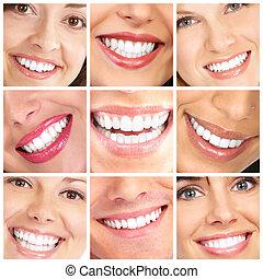 微笑, 以及, 牙齒