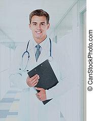 微笑, 医学, 医者。