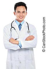 微笑, 医者