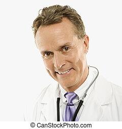 微笑。, 医者