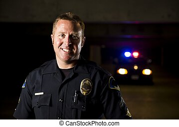 微笑, 士官