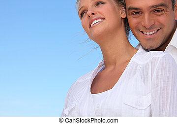 微笑, 夫妇