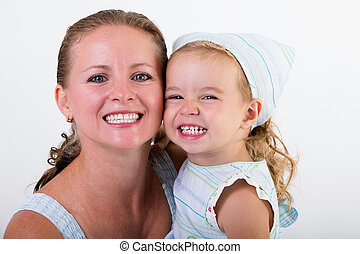 微笑, 娘, 母
