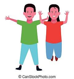 微笑, 子供, 2, 漫画