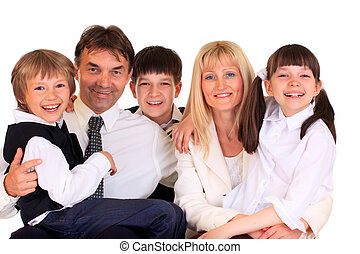 微笑, 家族