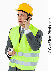 微笑, 携帯電話, 建築家