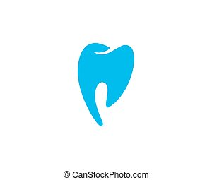 微笑, 歯医者の, テンプレート, ロゴ