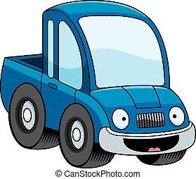 微笑, 漫画, ピックアップ トラック