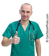 微笑, 醫生