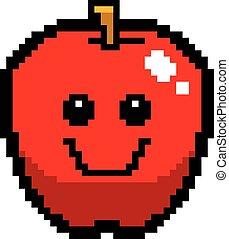 微笑, 8-bit, 漫画, アップル