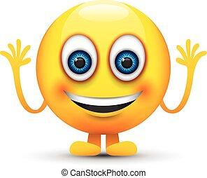 微笑, emoji