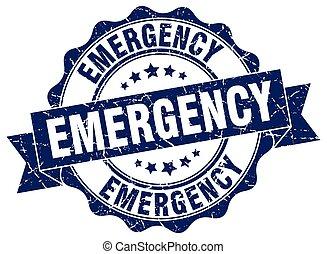 徵候。, stamp., 緊急事件, 封印