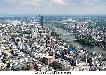 德国, 城市地平线, frankfurt