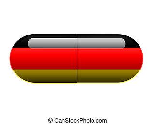 德语, 药丸