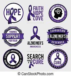 徽章, 帶子, 意識, 癌症, 胸部