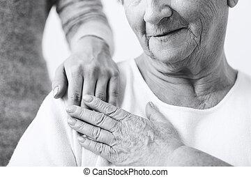 心づかい, について, 祖母