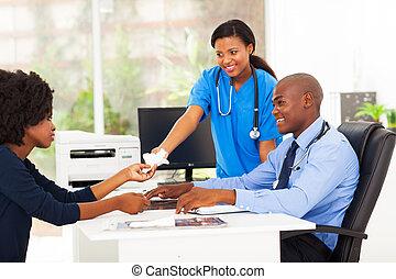 心づかい, handover, 看護婦, 組織, アフリカ