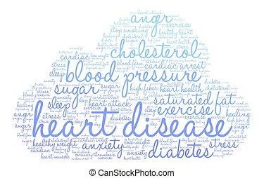 心臟病, 詞, 雲