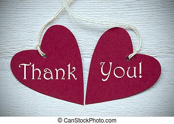 心, あなた, 感謝しなさい, 赤, 2