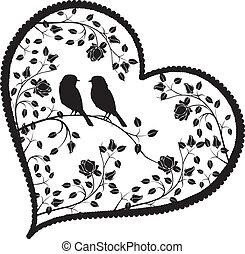 心, ∥で∥, 鳥, そして, 花