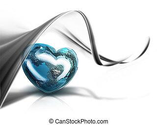 心, の, 世界