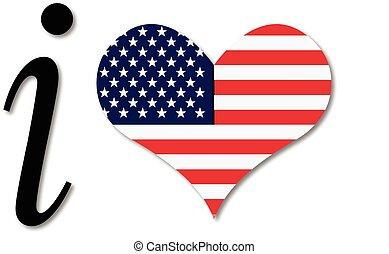 心, アメリカ