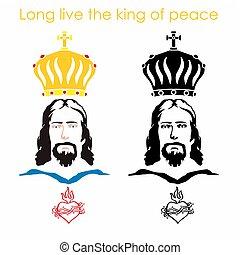 心, イエス・キリスト, 王冠