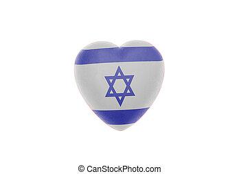 心, イスラエル共和国 旗