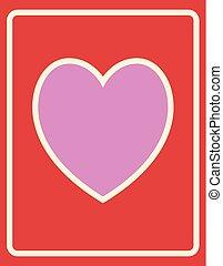 心, カード