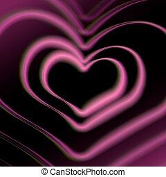心, カード, カラフルである, aberrations