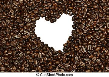 心, コーヒービーン