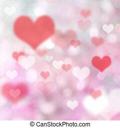 心, バックグラウンド。, バレンタイン