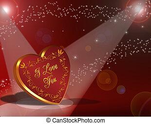 心, バレンタインデー, 背景