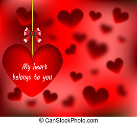 心, バレンタイン, 私, 日, 幸せ
