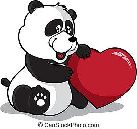 心, パンダ, 保有物