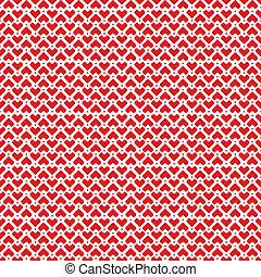 心, ピクセル, パターン