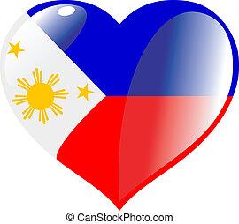 心, フィリピン