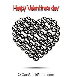 心, ボール, バレンタイン, day., 野球, 幸せ