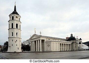 心, リトアニア人, vilnius, 資本, 大聖堂