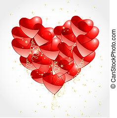 心, ロマンチック, 背景