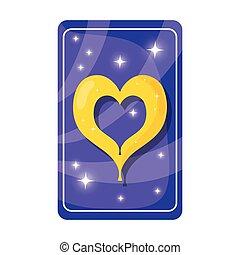 心, 予言, カード