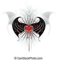 心, 吸血鬼, 赤