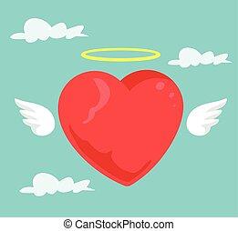 心, 天使