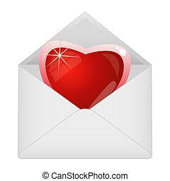 心, 封筒