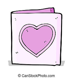 心, 愛, 漫画, カード