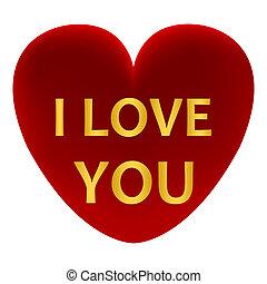 心, 愛, 赤, 言葉, あなた