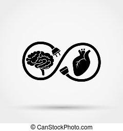 心, 接続, mind., ∥間に∥