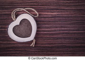 心, 木製フレーム, 3